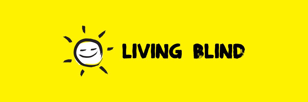 Living Blind - Smiling sun icon